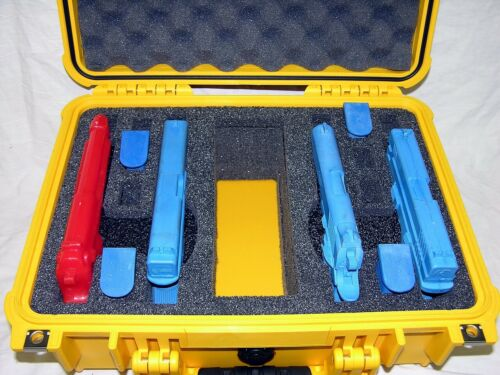 Pelican 1450 Case with Foam - Yellow