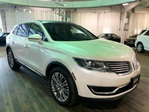 2018 Lincoln MKX RESERVE  AWD/TECHNOLOGY PACKAGE/NAVIGATION/PANO