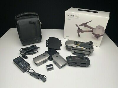 DJI Mavic Pro Platinum Fly More Combo Drone 4K Camera