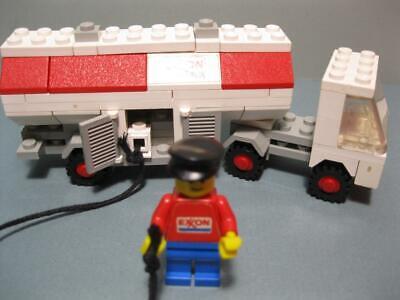 1970s Legoland LEGO Vintage EXXON GAS TRUCK FUEL PUMPER SEMI VEHICLE 554 PLAYSET