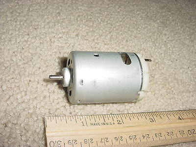 Small Dc Electric Motor 3 - 12 Vdc 10000rpm 4 Amp M77