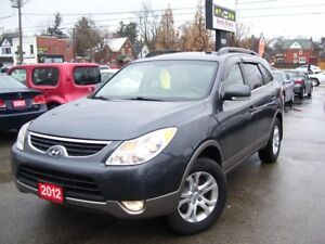 2012 Hyundai Veracruz GLS,ONE OWNER,NO ACCIDENT,BLUETOOTH,DVD PL