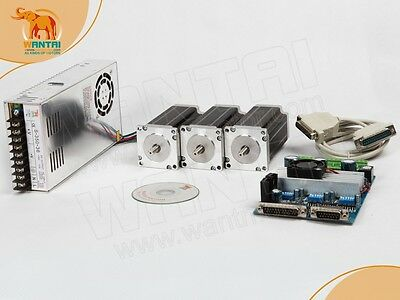Nema 23 Stepper Motor 270oz-in3a 3 Axis Board Cnc3d Kit Free Ship To Usaca