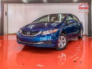 2015 Honda Civic Sedan LX**AUTOMATIQUE**CAMÉRA DE RECUL**BANCS C