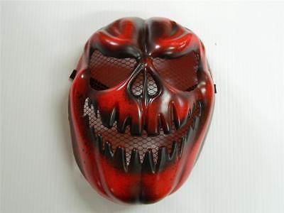 Painting Halloween Props (HALLOWEEN HORROR PROP - Modified painted Evil Fire Pumpkin Skull Mask)