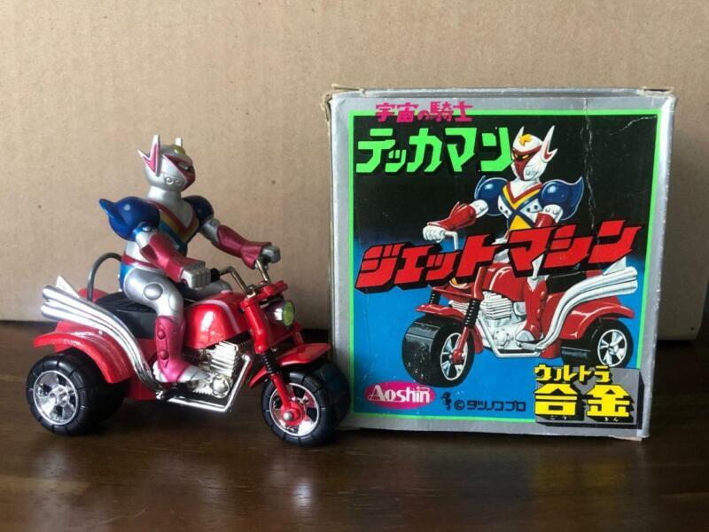 Aoshin Shogun Warrion Trike 4.5 Inch Diecast Figure In Original Box Japan