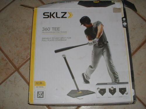 "SKLZ 360 Swivel Baseball/Softball Hitting/Batting Tee 22""-36"" NEW"