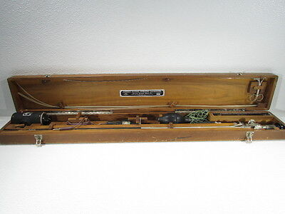 Vintage American Cystoscope Makers Benedict Flexible Operating Gastroscope