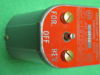 Arrow Hart Dr-02 Reversing Drum Switch 1-2 Hp 115-230-550v Forward Off Reverse