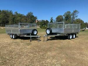 3.5 Ton and 4.5 Ton - Tipping Trailer - Galvanised Maryborough Fraser Coast Preview