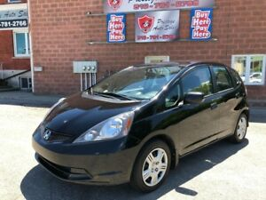 2013 Honda Fit LX/ONE OWNER/CERTIFIED/WARRANTY INCLUDED