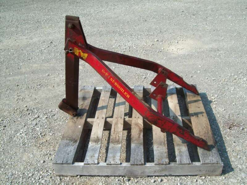 Original International McCormick U-F1 Fasthitch Subsoiler ; Hard to Find !! Rare