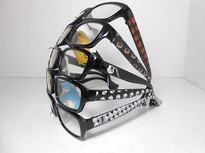 Men's Sports Reading Glasses CHOOSE Football Basketball Baseball Hockey (Sports Reading Glasses)