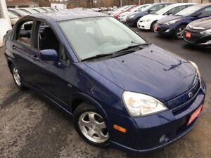 2004 Suzuki Aerio GLX/AUTO/ALLOYS/CRUISE CONTROL/ FUEL EFFICIENT