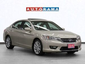 2015 Honda Accord V6 Touring Navigation Leather Sunroof Backup C