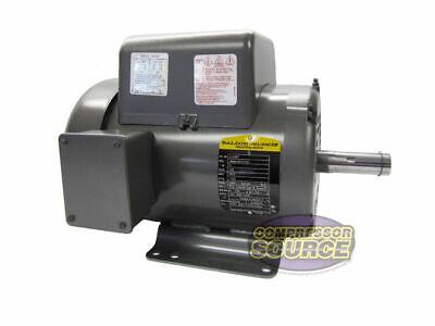 5 Hp 1 Phase Industrial Baldor Electric Motor 184t Frame L8430t 230 Volt