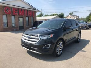 2015 Ford Edge Titanium AWD Navi Roof
