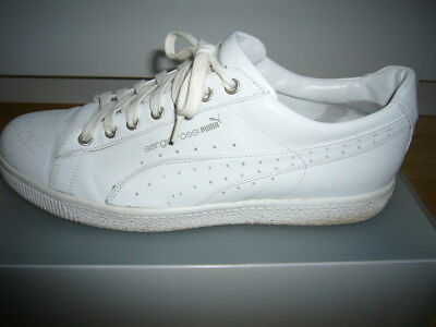 PUMA Sergio Rossi SR Clyde  weiss/white UK 9 for sale  Shipping to South Africa