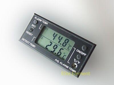 Digital Thermometer Temperature Meter Fahrenheit Centigrade Alarm Buzzer 095