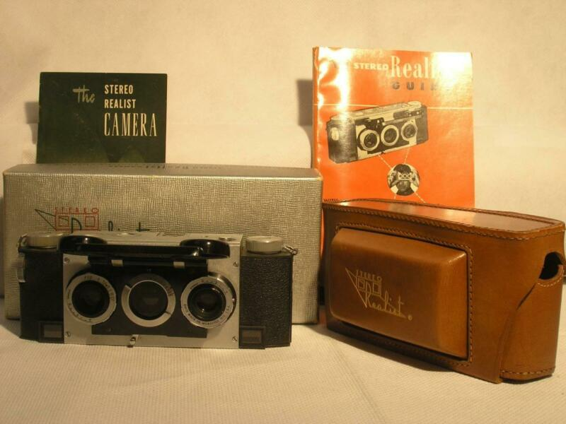 Nice Stereo Realist F2.8 35mm 3D Rangefinder Camera With Box And Case
