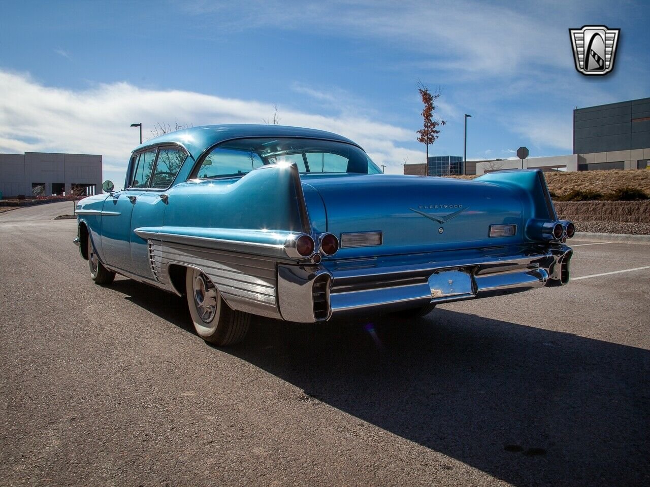 Blue 1957 Cadillac Fleetwood  365 CI V-8 4 speed Automatic Available Now!