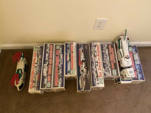 Lot of 10 Hess Trucks