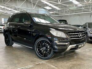 2013 Mercedes-Benz M-Class W166 ML250 BlueTEC 7G-Tronic + Black 7 Speed Sports Automatic Wagon Moorabbin Kingston Area Preview