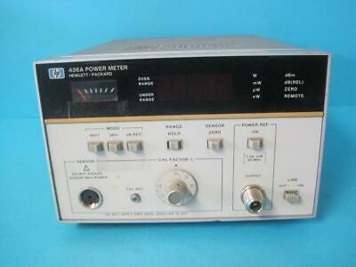 Hewlett Packard Hp Single Channel Power Meter Model 436a Opt. 22 Tested Working