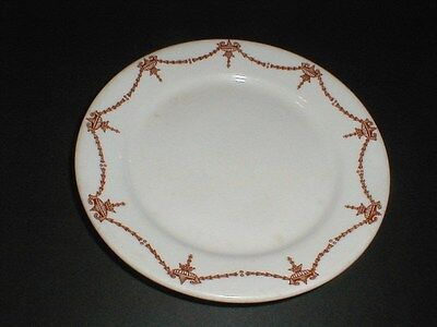 Carr Restaurant Ware Brown MANHATTAN Urn Swag Salad Plate/s Swag Urn