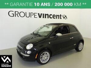 2014 Fiat 500C LOUNGE CONVERTIBLE**GARANTIE 10 ANS**