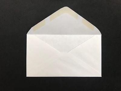 1000 Ct White Plain Regular Envelopes-letter Mailing-shipping 3-58 X 6-12