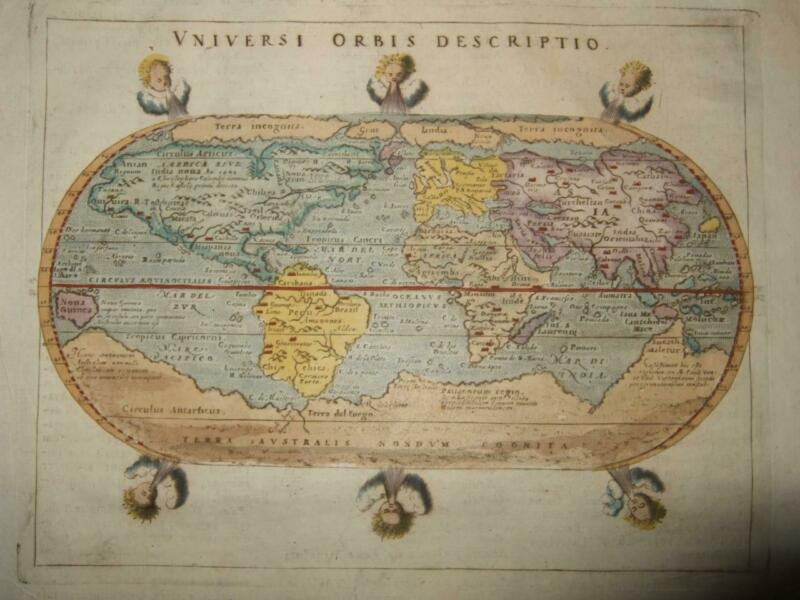 1596/1713,WORLDMAP,EUROPE ASIA AFRICA AMERICA,TERRA INCOGNITA,ARCTIC,ANTARTICA
