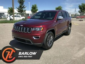 2017 Jeep Grand Cherokee Limited / Back Up Camera / Sunroof / Bl