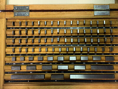 81 Pc Grade B Machinist Gage Block Set .050-4