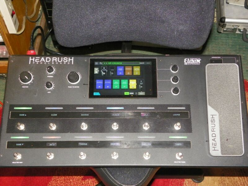 Headrush Pedalboard Amp and FX Modeling Effects Processor