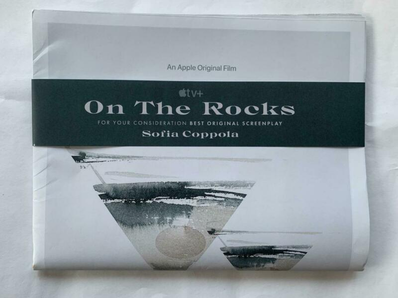 FYC promo ON THE ROCKS newspaper movie Sofia Coppola Bill Murray Rashida Jones