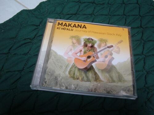 """HAWAII """"MAKANA - HI HO ALU - JOURNEY of HAWAIIAN SLACK KEY""""  MUSIC CD"""
