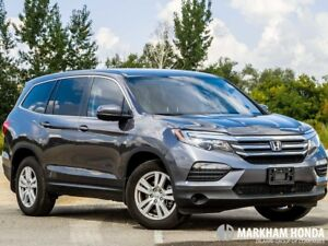 2017 Honda Pilot V6 LX 6AT AWD - ACCIDENT FREE|BACKUP CAM|KEYLES