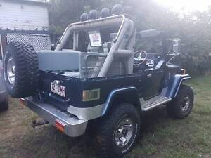 1978 Toyota LandCruiser Convertible-V8 Shorty-6 Seater New Farm Brisbane North East Preview