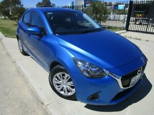 2018 Mazda 2 DJ2HAA Neo SKYACTIV-Drive Deep Crystal Blue 6 Speed Sports Automatic Hatchback Bassendean Bassendean Area Preview
