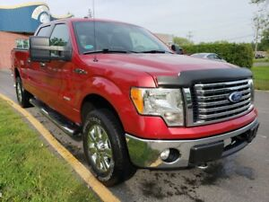 2011 Ford F-150 XLT V6- 3.5L-  4X4- SUPERCREW- HITCH- MARCHEPIED