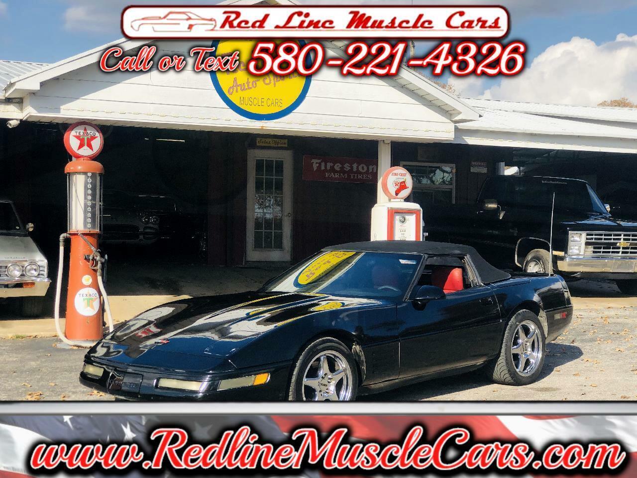 1991 Black Chevrolet Corvette Convertible  | C4 Corvette Photo 1
