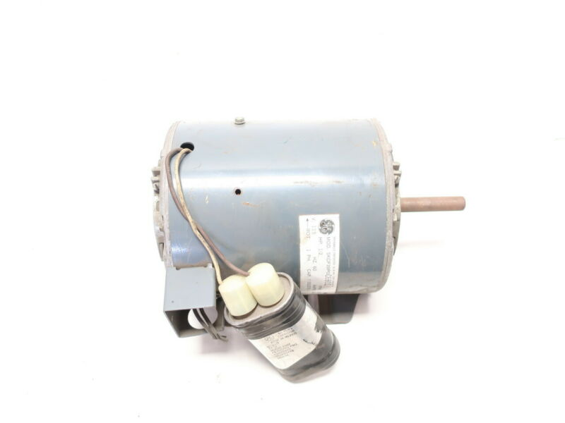 General Electric Ge 5KCP39PGC691S Ac Motor 1ph 1/2hp 1075rpm 1/2in 115v-ac