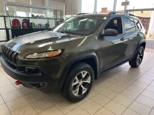 2015 Jeep Cherokee Trailhawk 4x4 *TOIT OUVRANT, BLUETOOTH, CUIR*