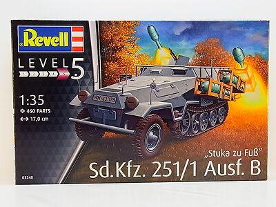 LOT 47344 Revell 03248 Stuka zu Fuß Sd. Kfz. 251/1 Ausf. B 1:35 Bausatz NEU OVP