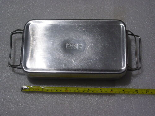 Stainless Steel Medical Box Sterilizer equipment & tools USSR