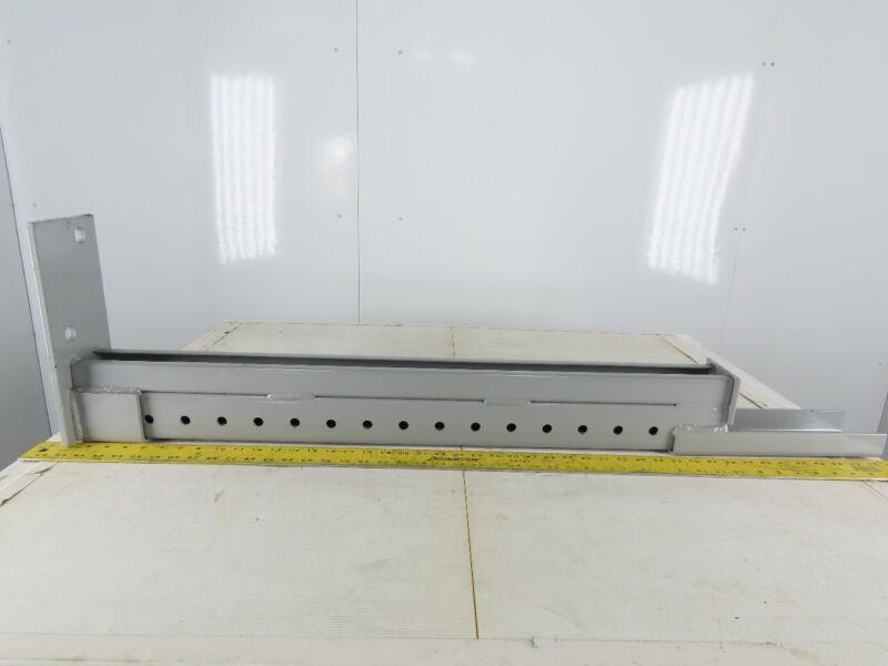 "Mac-Rak 36"" Standard Column Tear Drop Pallet Rack Repair Leg"
