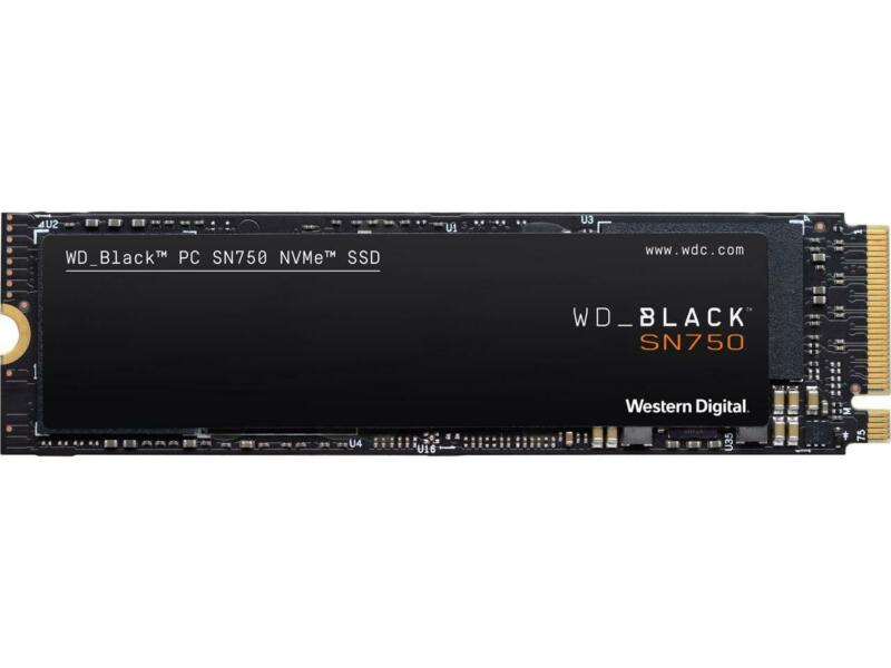 Western Digital WD BLACK SN750 NVMe M.2 2280 1TB PCI-Express 3.0 x4 64-layer 3D