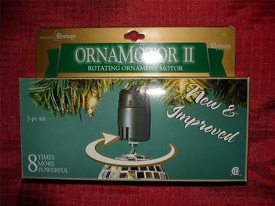 NEW 9 ROMAN Ornamotor II 8 times more powerful ornamotion rotates ornament