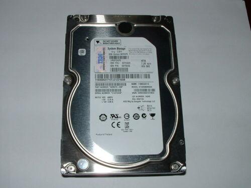 """Seagate 4TB 7.2K 6Gb/s 128MB 3.5"""" SAS Hard Drive ST4000NM0023 __ IBM 00Y2426"""